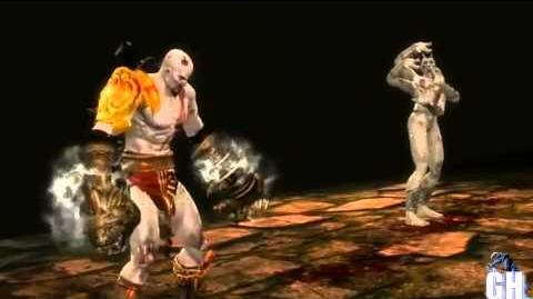 Video - ▷ Mortal Kombat 9 Kratos God Of War Second & Secret