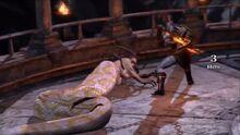 Kratos vs gorgon serpent 8 - GoW3
