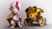 Kratos en modnation racers
