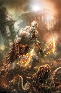 Kratos - Comic God of War