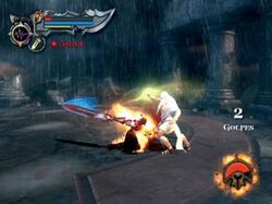 Kratos contra Zeus
