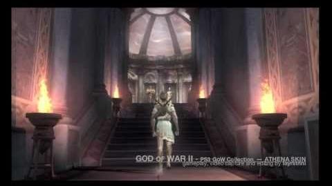 God of War II Athena Skin (HD)