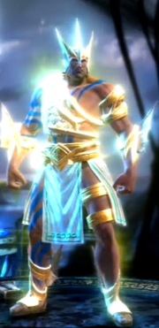 Godly War Armor of Poseidon
