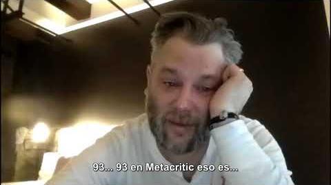La reacción del director de God of War (Cory Barlog) al ver las reseñas de su juego