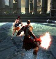 Perseo contro kratos