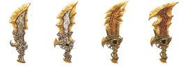Evolución de las Espadas de Atenea