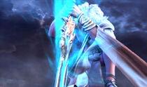 Zeus invocando el Desagravio Divino (GOW2)