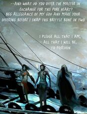 Orkos guerriero circe affronta lamia