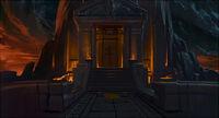 Fachada del Templo de Ares