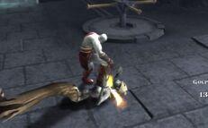 Kratos spade caos gorgone oscura