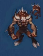 Minotauro god of war
