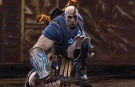 Kratos con la Armadura de Morfeo