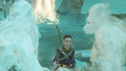 Zeus Helheim vs Kratos Helheim