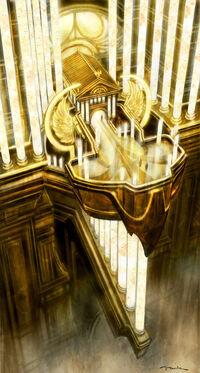 Balcón de la Sala del Trono de Zeus