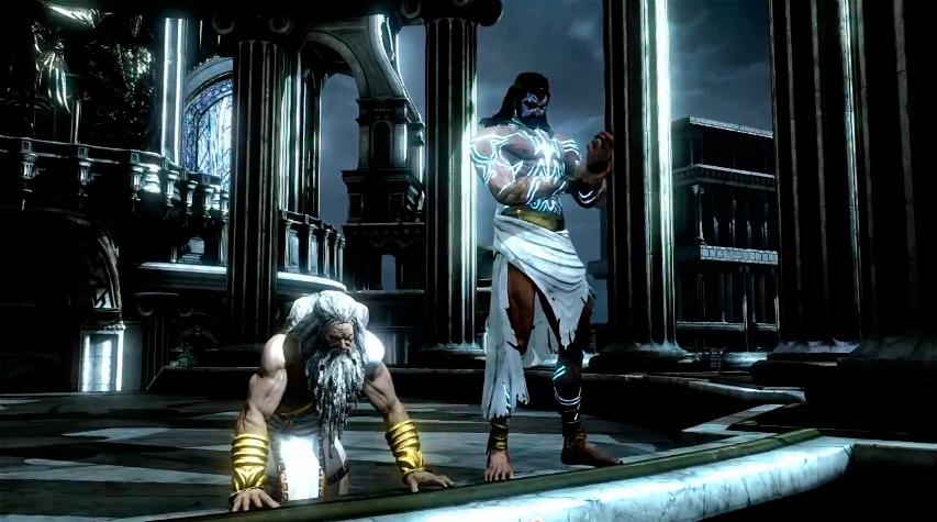 Imagen zeus poseidon monte god of war wiki for God of war 3 jardines del olimpo