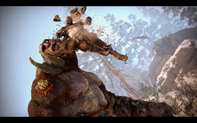 File:God of War (PS4) - Kratos VS Giant.png