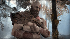 God of War - Screenshot - Kratos Armband