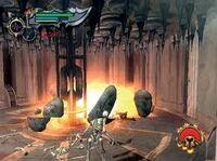 Kratos utilizando el Temblor de Atlas