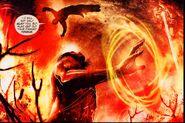 Ceyeron en batalla contra Kratos