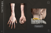 GodOfWar4 Atreus's Tattoos