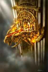 Balcón de la Sala del Trono de Kratos