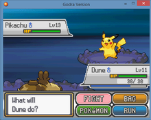 Pokemon Godra exp.