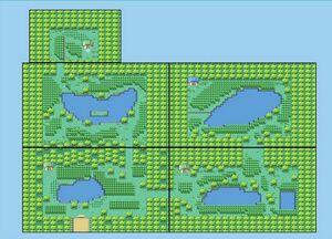 Safari Zone Map