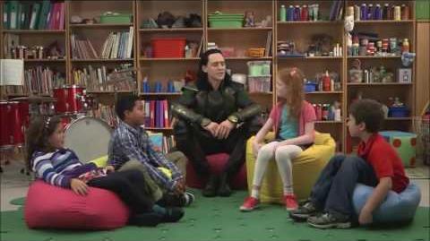 Video - Tom Hiddleston Loki with children  | Gods, Goddesses