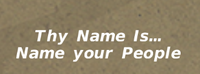 NamingYourPeople