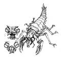 Concept Art - Godzilla vs. Megaguirus - Meganulon 2