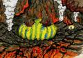 Concept Art - Godzilla Tokyo SOS - Mothra Larva 3