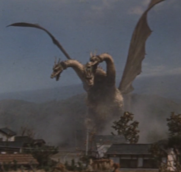 Ghidorah en Ghidorah the three headed Monster
