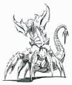 Concept Art - Godzilla vs. Destoroyah - Destoroyah Aggregate 2