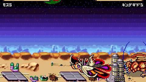 Gojira Kaiju Dairantou Advance (Playthrough Mothra Pt