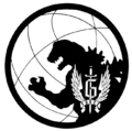 Concept Art - Godzilla vs. MechaGodzilla 2 - G-Force Logo 4