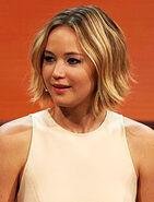Jennifer Lawrence at 214. Wetten, dass.. - show in Graz, 8. Nov. 2014 cropped