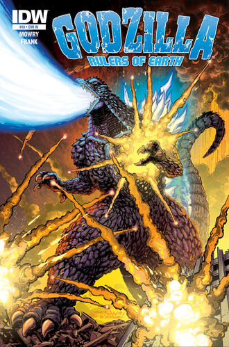 RULERS OF EARTH Issue 13 Cover RI