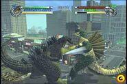 Godzilla vs Gigan 1972 in Godzilla Unleashed
