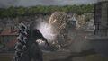 PS4 Godzilla vs. Anguirus