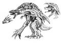 Concept Art - Godzilla 2000 Millennium - Orga 97