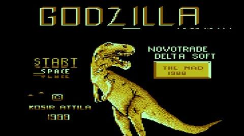 GODZILLA (Commodore 16 & Commodore Plus 4) Gameplay