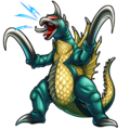 Godzilla X Monster Strike - Gigan Showa