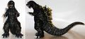 Bandai Japan 2001 Movie Monster Series - Translucent Glitter Godzilla