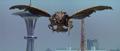 Godzilla vs. Megaguirus - Megaguirus looks at Godzilla