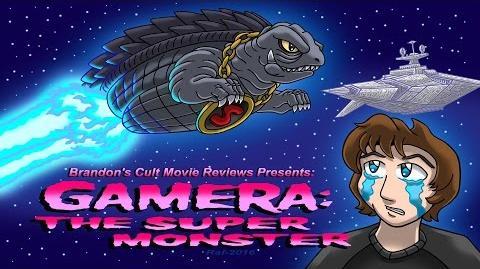 Brandon's Cult Movie Reviews Gamera Super Monster