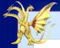 Concept Art - Rebirth of Mothra 3 - Cretaceous King Ghidorah 1