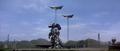 Godzilla X MechaGodzilla - Kiryu Gets Airlifted