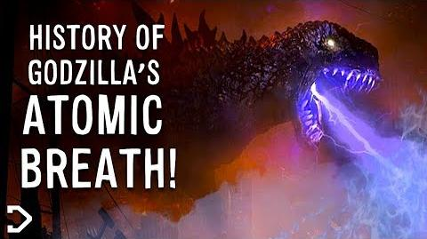 The History Of Godzilla's ATOMIC BREATH!