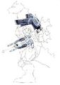 Concept Art - Godzilla Against MechaGodzilla - Kiryu 19