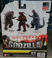 Godzilla Bandai Creation 2014-2